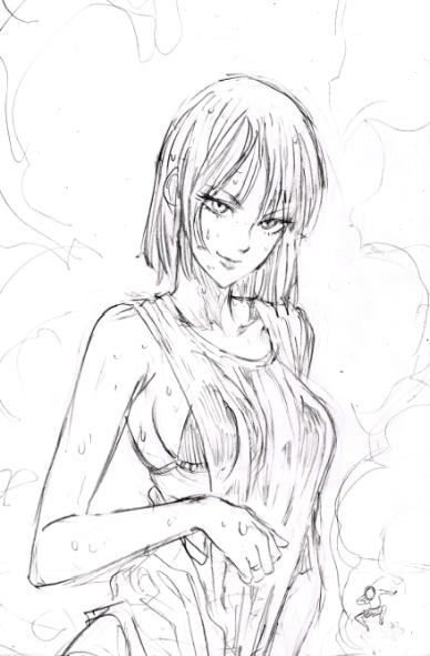 One Punch Man Yuusuke Murata Sketch 1