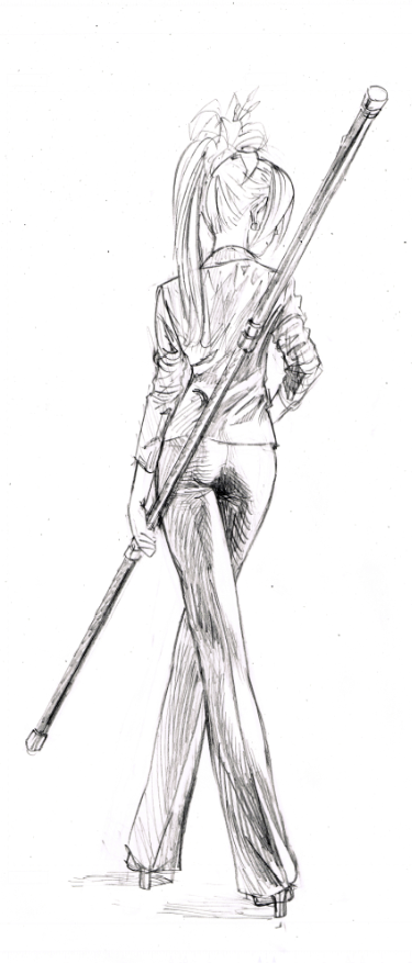 One Punch Man Yuusuke Murata Sketch 3