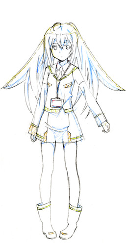 Original Anime Plastic Memories Promotional Video, Staff and Character Designs Revealed haruhichan.com Plamemo anime Isla character design