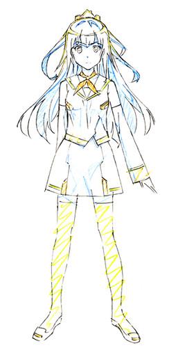 Original Anime Plastic Memories Promotional Video, Staff and Character Designs Revealed haruhichan.com Plamemo anime Michiru Kinushima character design
