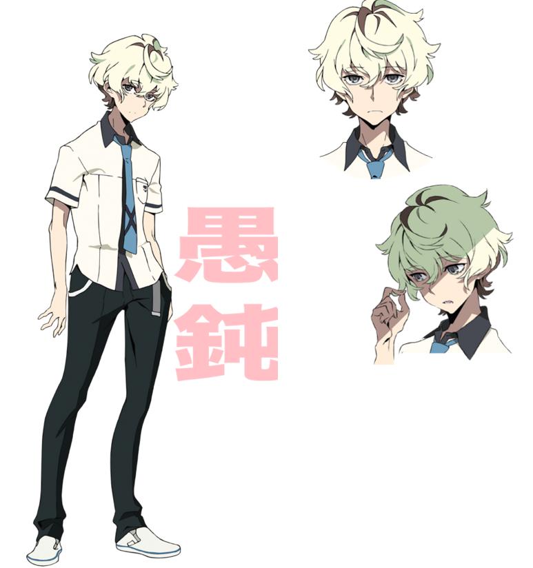 Original TV Anime Kiznaiver character design Katsuhira Akata