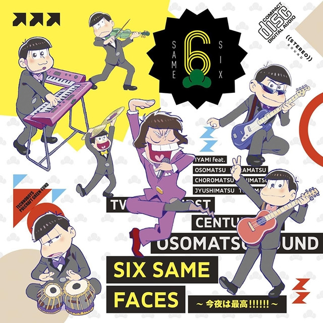 Osomatsu-San's Ending Song Hits 100,000 Sales in Japan