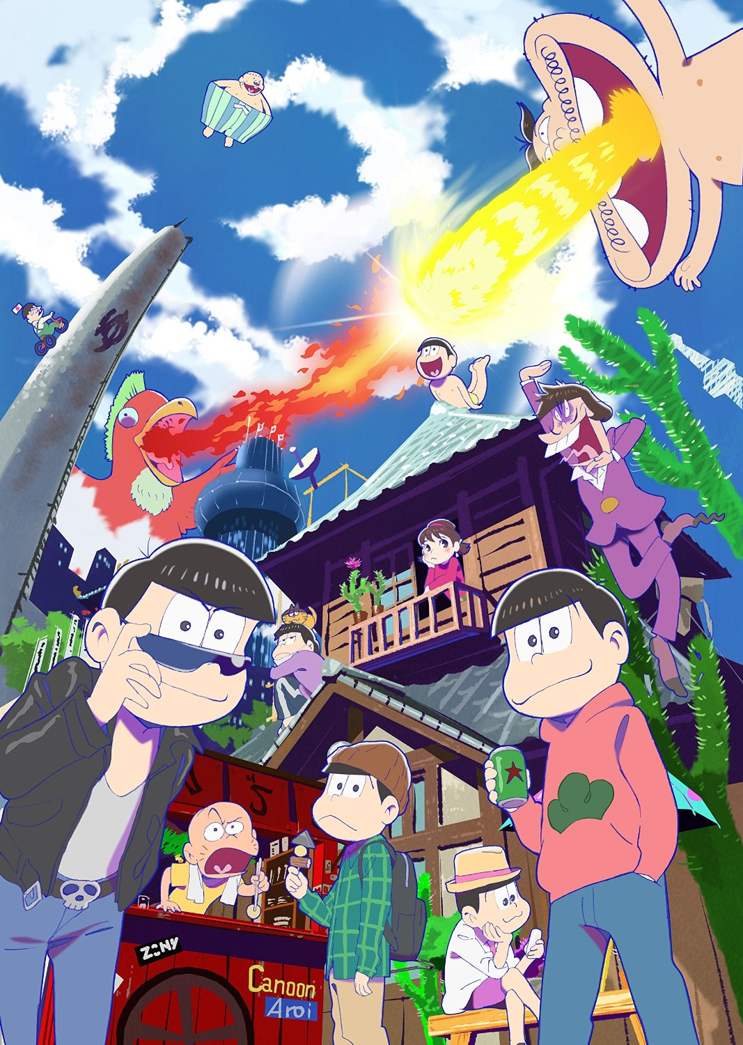 Osomatsu-san anime visual