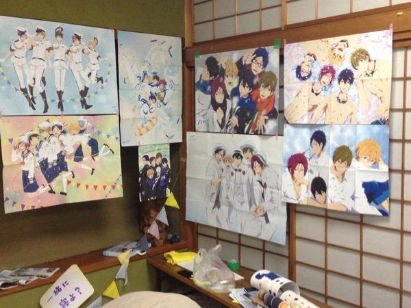 Otaku Celebrate the Birthday of Makoto Tachibana from Free! haruhichan.com Makoto Tachibana birthday yuuri_bluesoda 4