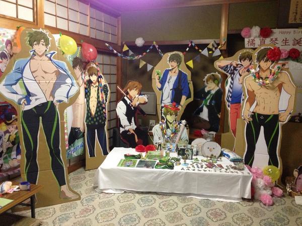 Otaku Celebrate the Birthday of Makoto Tachibana from Free! haruhichan.com Makoto Tachibana birthday yuuri_bluesoda