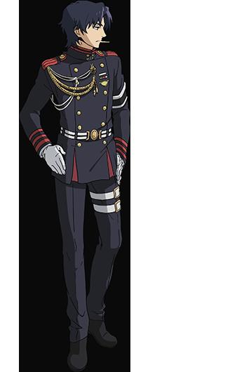 Owari no Seraph Glen Ichinose characer design haruhichan.com Seraph of the End Anime