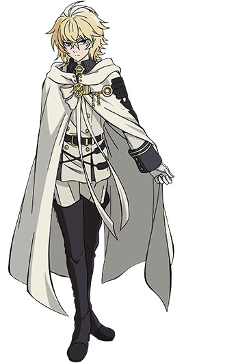 Owari no Seraph Mikaela Hyakuya characer design haruhichan.com Seraph of the End Anime