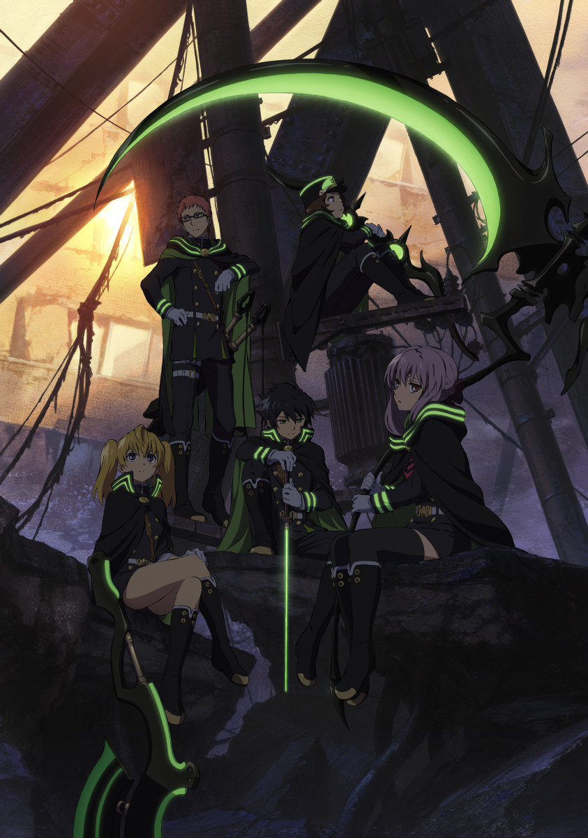 Owari no Seraph Third Visual haruhichan.com seraph of the end key visual