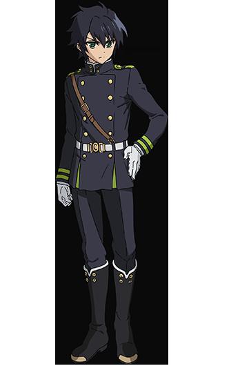 Owari no Seraph Yuichiro Hyakuya characer design haruhichan.com Seraph of the End Anime