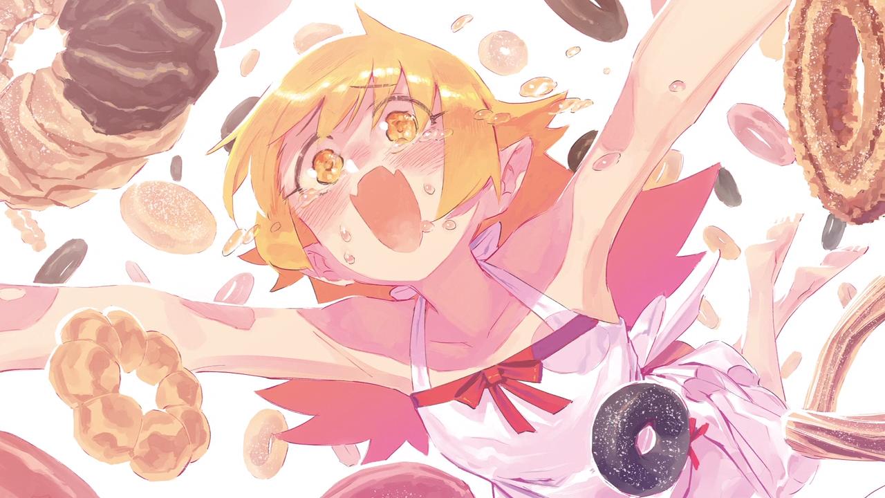 Owarimonogatari anime end card episode 0003