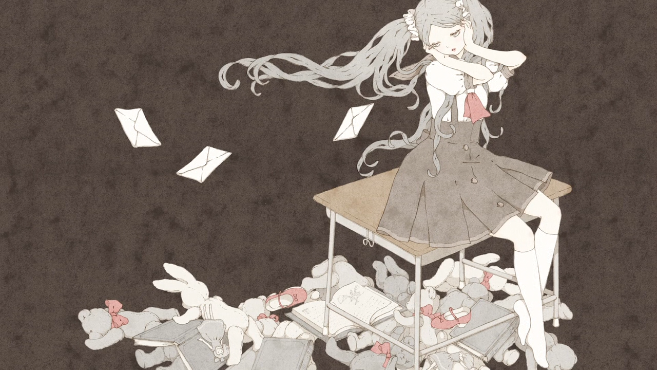 Owarimonogatari anime end card episode 0006
