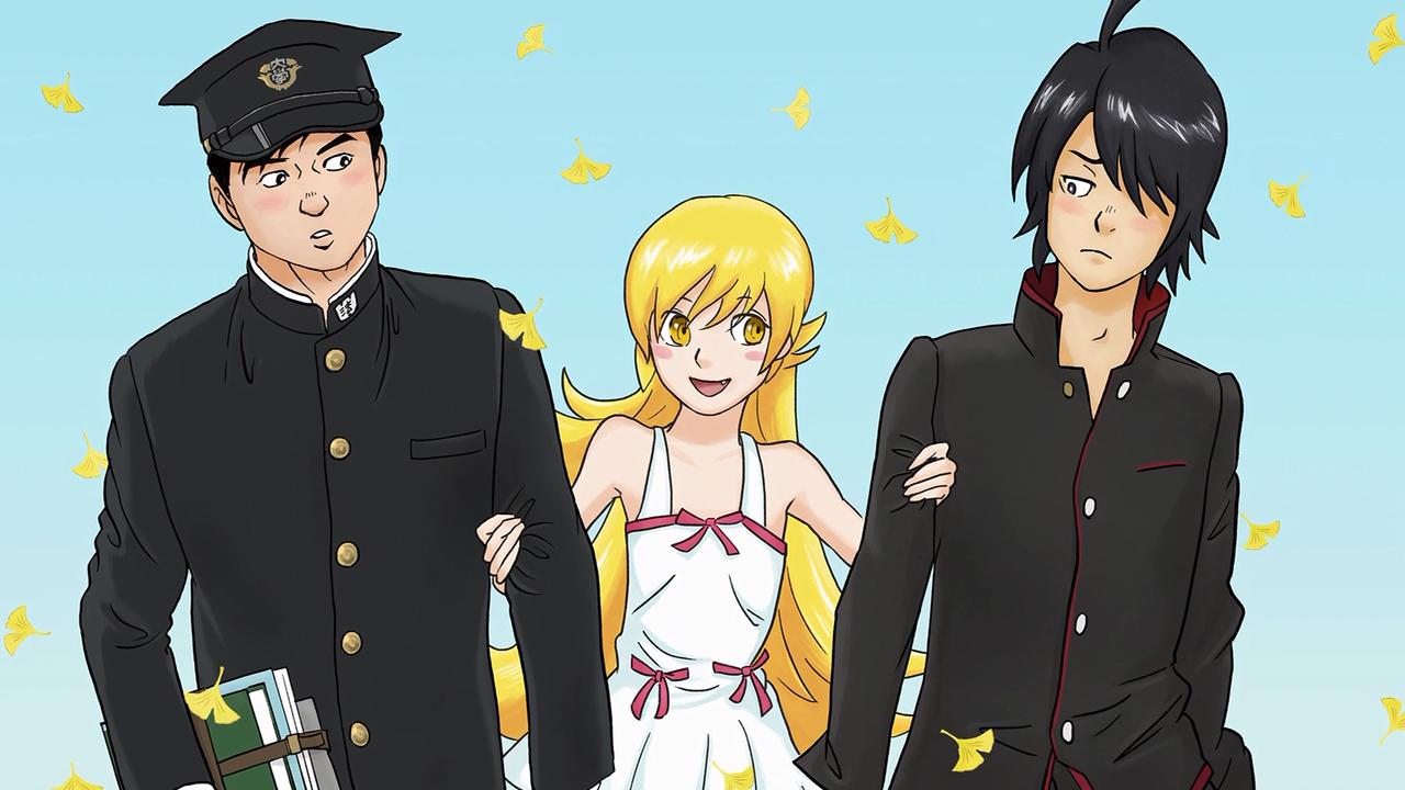 Owarimonogatari anime end card episode 0011