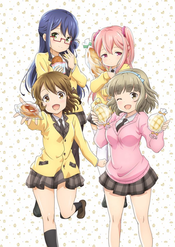 Pan De Peace! TV Anime Slated for April 3