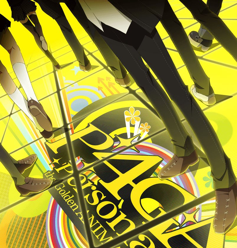 Persona-4-Golden-Anime-series visual