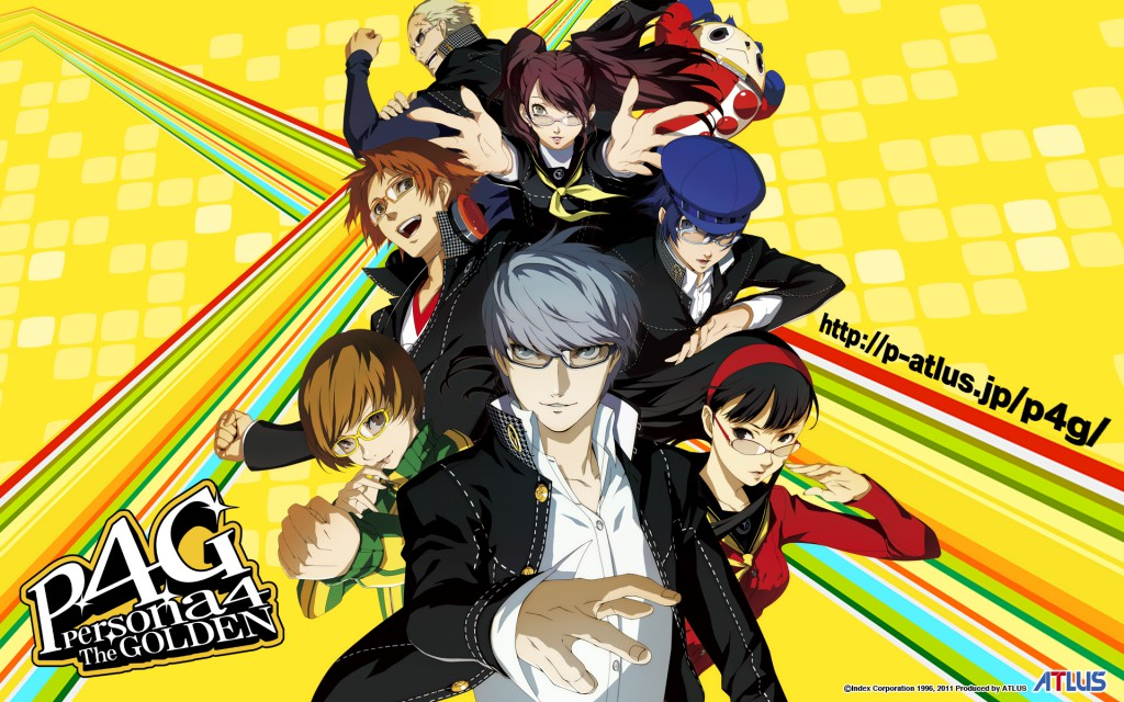 Persona 4 The Golden Animation anime series