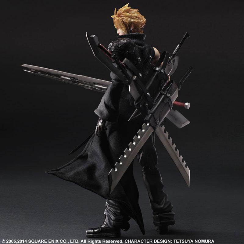 Play Arts Kai Final Fantasy VII ADVENT CHILDREN Cloud Strife Figure 001