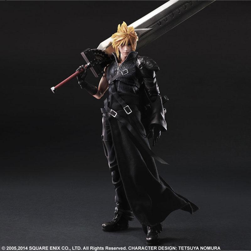 Play Arts Kai Final Fantasy VII ADVENT CHILDREN Cloud Strife Figure 002