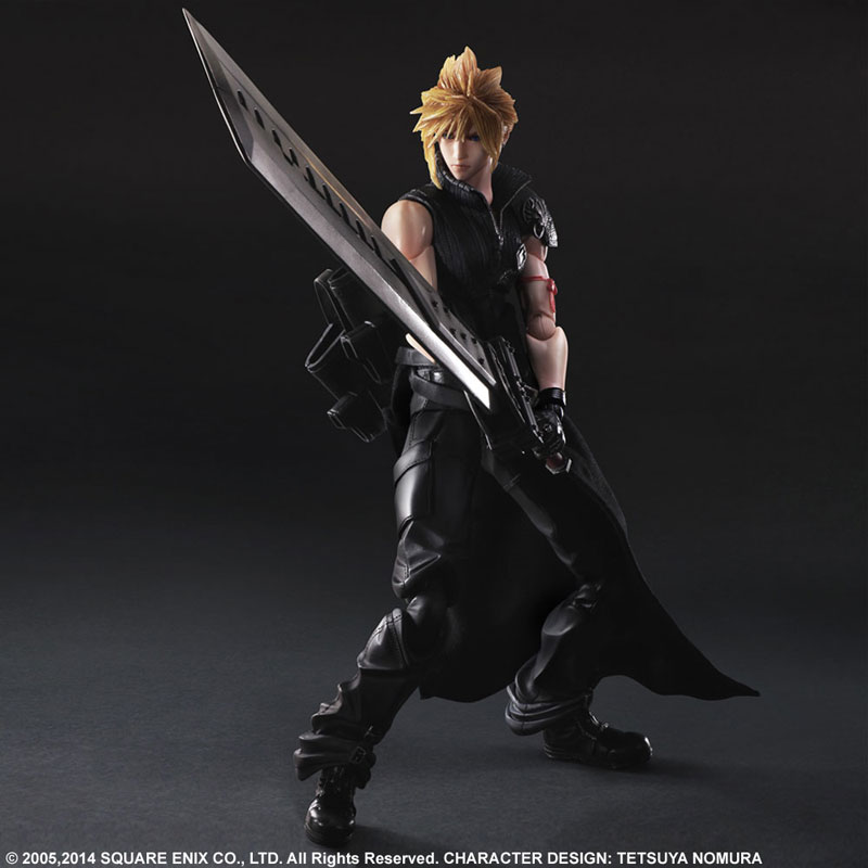 Play Arts Kai Final Fantasy VII ADVENT CHILDREN Cloud Strife Figure 003