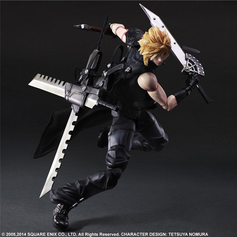 Play Arts Kai Final Fantasy VII ADVENT CHILDREN Cloud Strife Figure 004