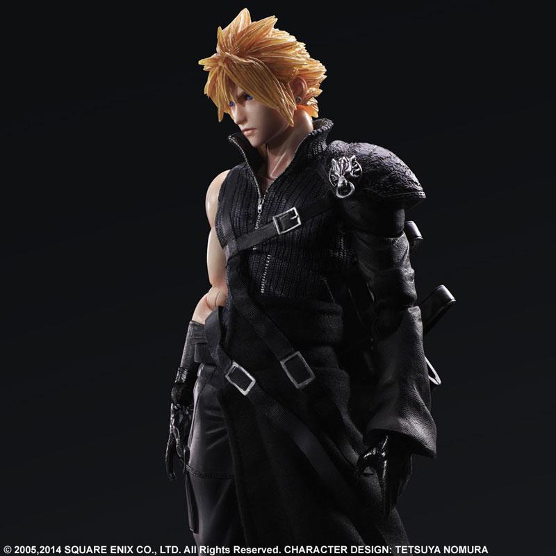 Play Arts Kai Final Fantasy VII ADVENT CHILDREN Cloud Strife Figure 005