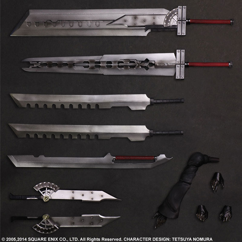 Play Arts Kai Final Fantasy VII ADVENT CHILDREN Cloud Strife Figure 006