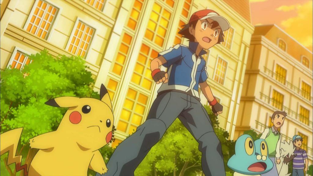 Pokémon the Series XY screenshot 1 Ash Pikachu Battle