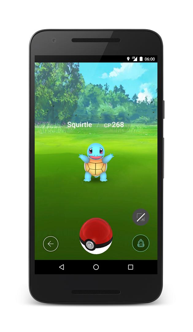 Pokemon GO Screenshots and Gameplay 2