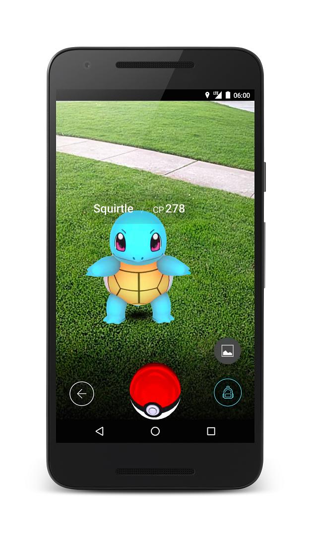 Pokemon GO Screenshots and Gameplay 4