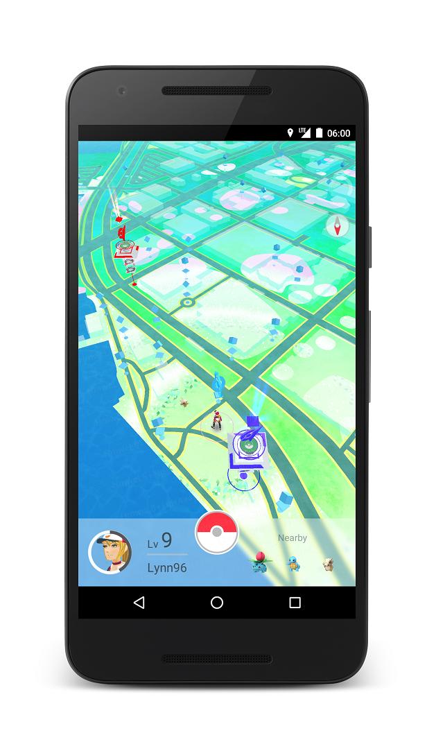 Pokemon GO Screenshots and Gameplay 5