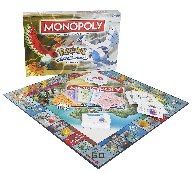 Pokemon Johto Monopoly 2