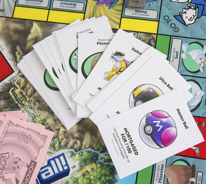 Pokemon Johto Monopoly 5