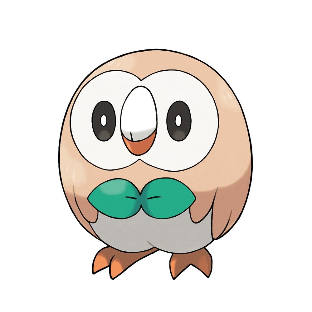 Pokemon-Sun-Moon-Starter-Rowlet
