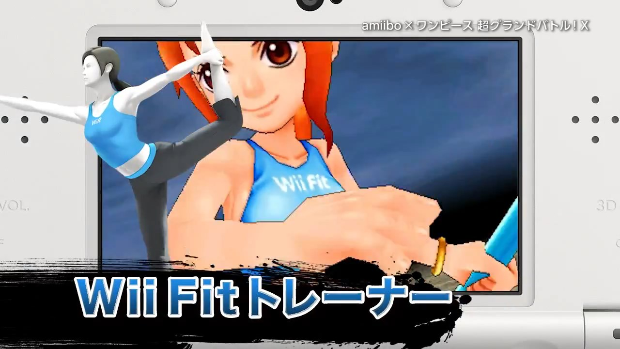 Power up One Piece Characters with New amiibo Costumes haruhichan.com Nami wii fit