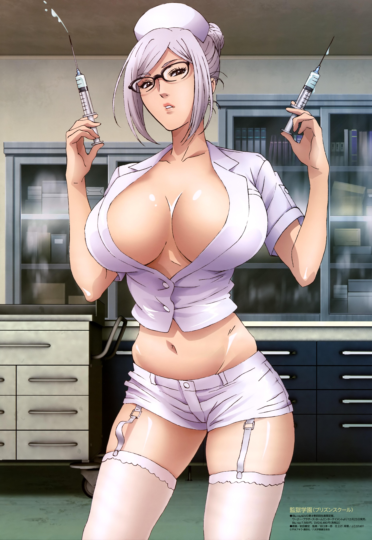 Prison School Meiko Shiraki anime poster