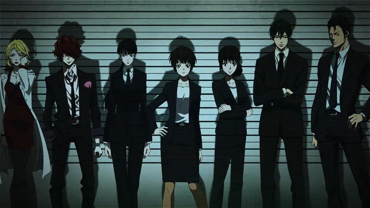 Psycho-Pass Movie Opening Theme Streamed haruhichan.com Psycho-Pass Film Opening Theme 05