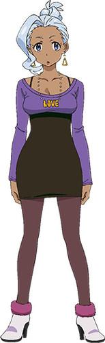 Punchline character design Haruka Tomatsu as Rabura Chichibu