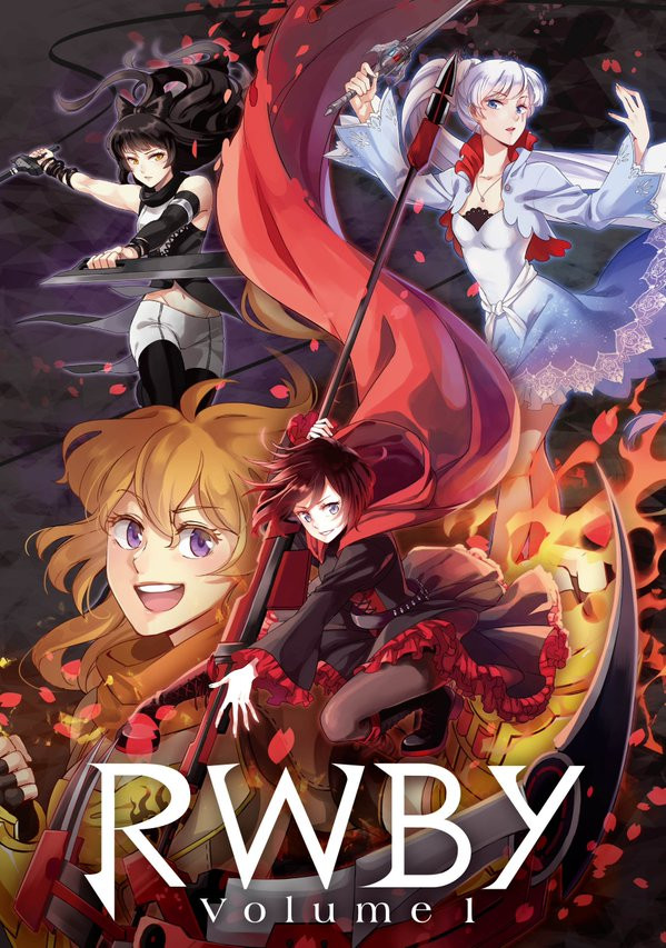 RWBY Japanese release volume 1 cover