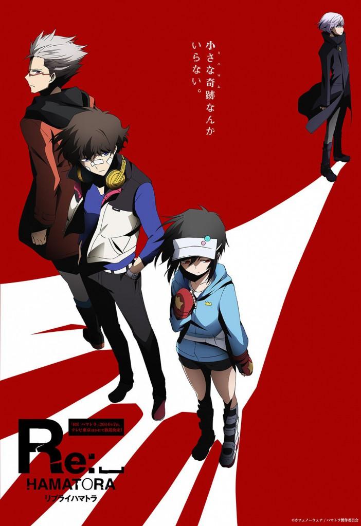 Re Hamatora season 2 anime series