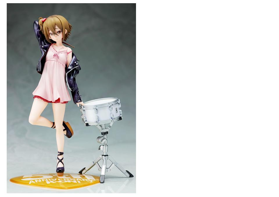 Ritsu Tainaka Fifth Anniversary Figure Previewed 2