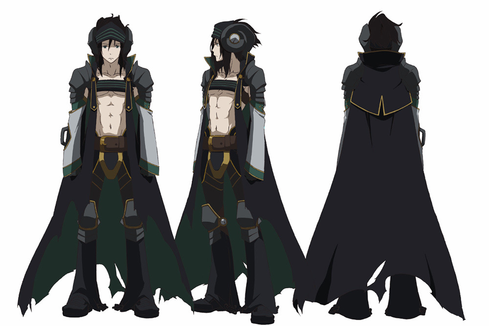 Anime Character Design Tropes : Rokka no yuusha anime air date visual promotional video