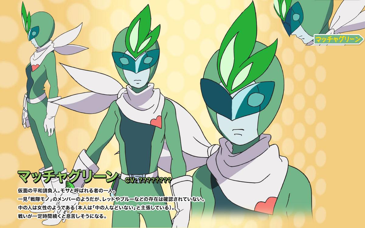 Rolling☆Girls_Haruhichan.com-Character-Design-Green Macha