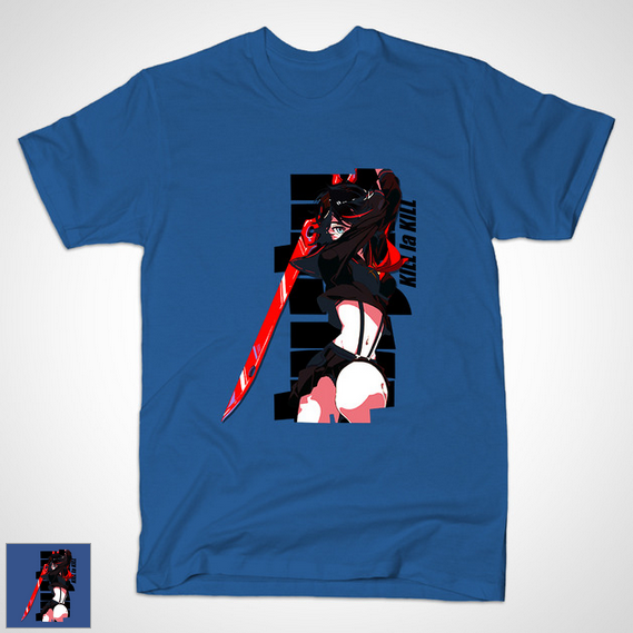 Ryuuko Matoi T-Shirt Goes on Sale haruhichan.com KLK T-Shirt 2