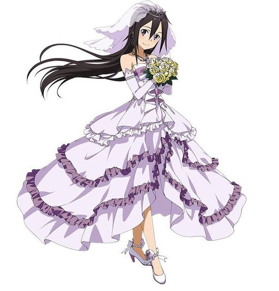 SAO Heroines Become Brides in Latest Sword Art Online Mobile Game Event 2