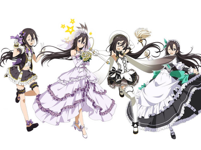 SAO Heroines Become Brides in Latest Sword Art Online Mobile Game Event 5