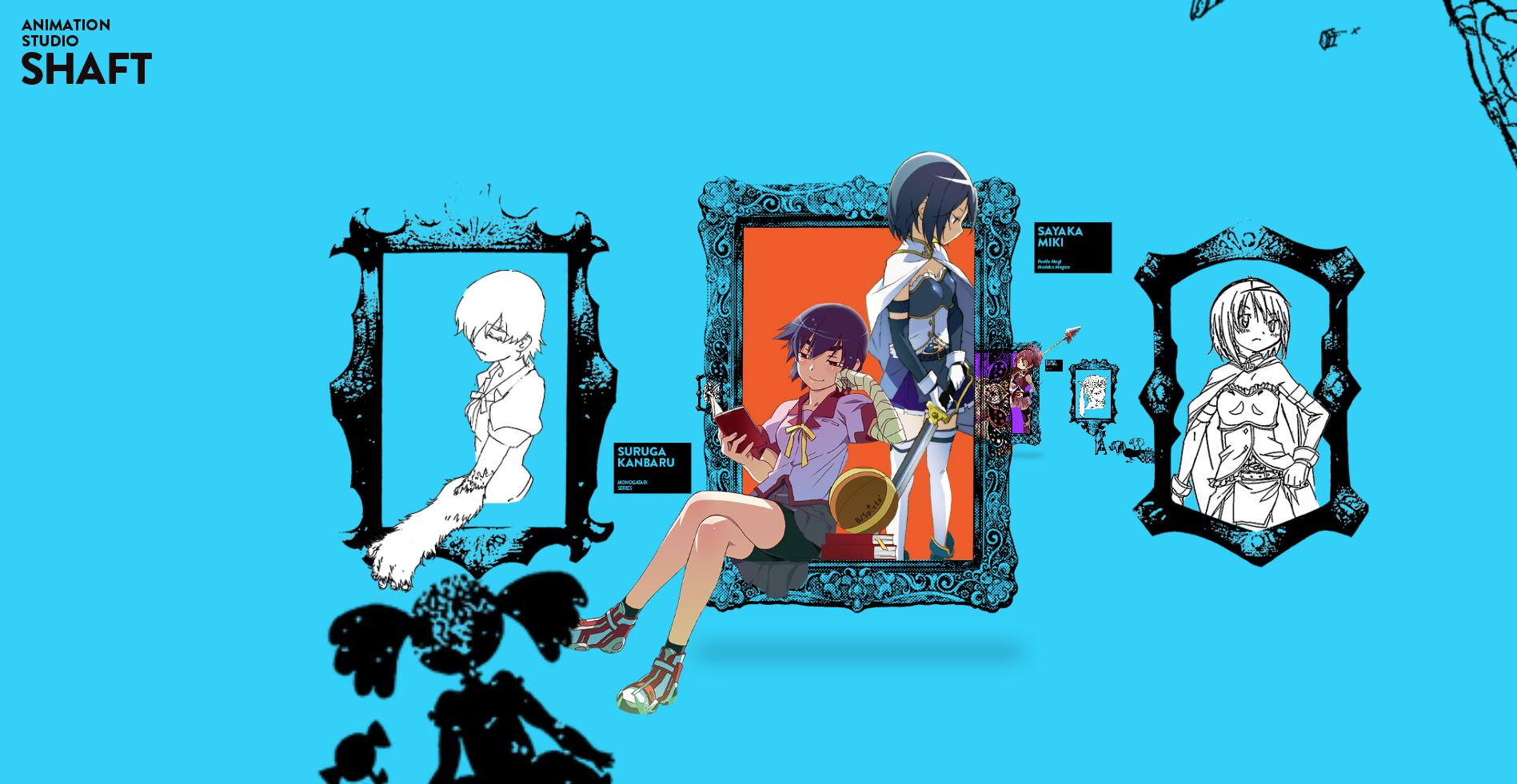 SHAFT Launches Madogatari Exhibit to Celebrate 40th Anniversary Monogatari Madoka Magica 2
