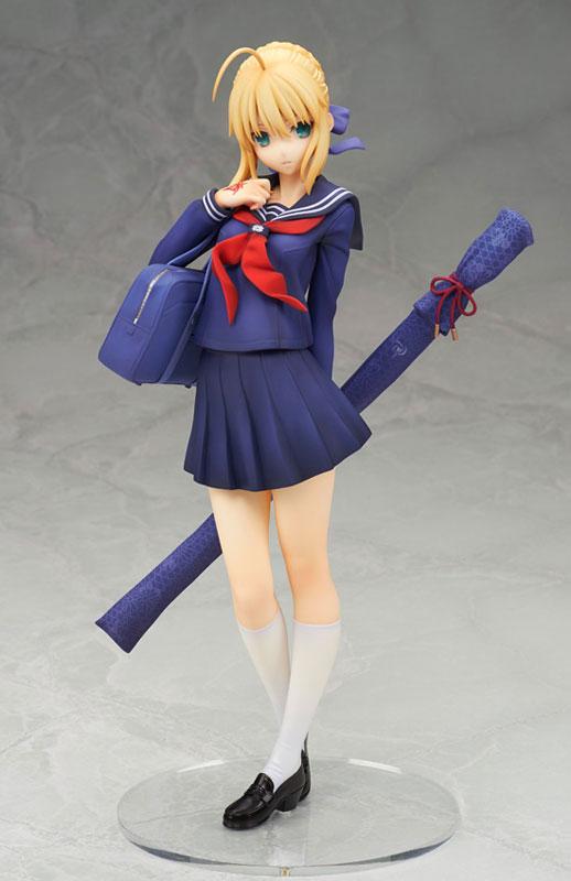 Saber Looks Cute as a Schoolgirl in New Figure 2