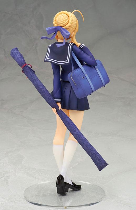 Saber Looks Cute as a Schoolgirl in New Figure 4
