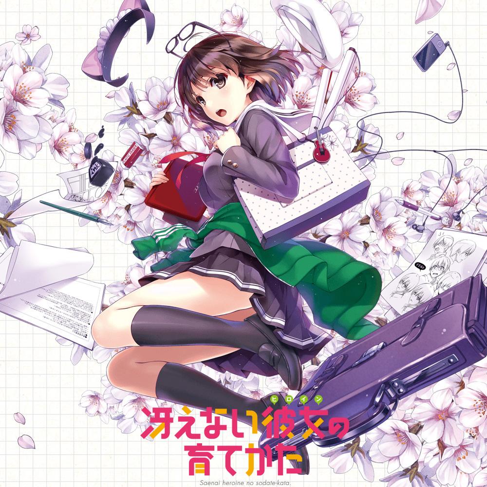 Saenai Heroine no Sodatekata 1st anime visual haruhichan.com anime