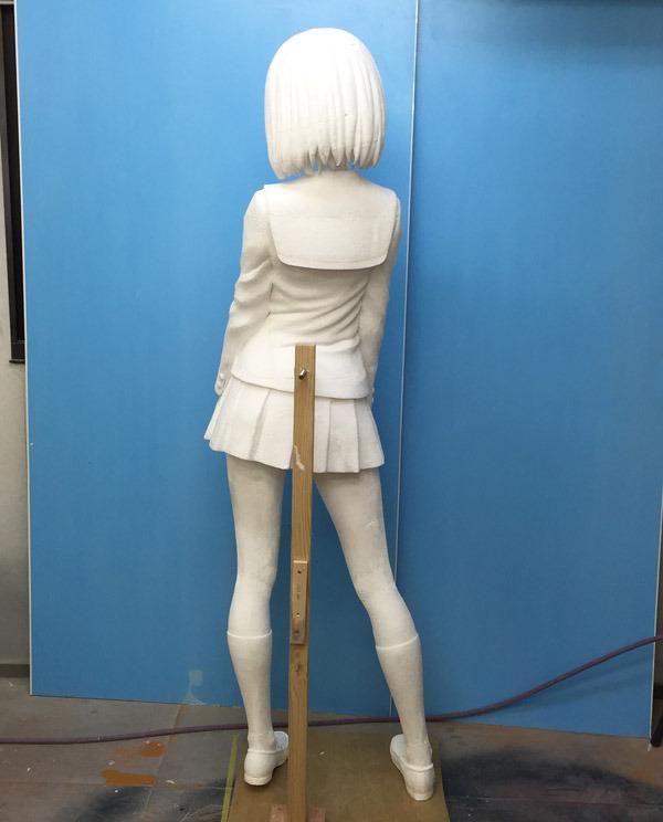 Saenai Heroine no Sodatekata Life-Sized Megumi Katou Figure Revealed 2