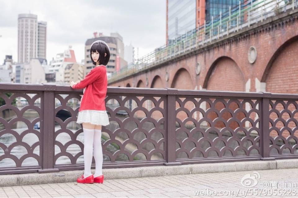 Saenai Heroine no Sodatekata Megumi Katou anime cosplay 000
